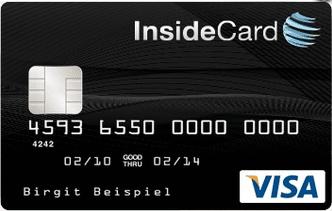 insidecard kreditkarte prepaid